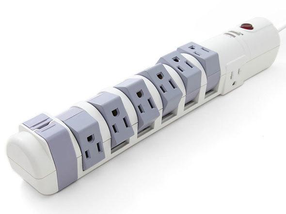 日商テレコムの可動式電源タップ「S9P810C6」