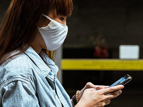 マスク姿でもロック解除可能な指紋認証が最適