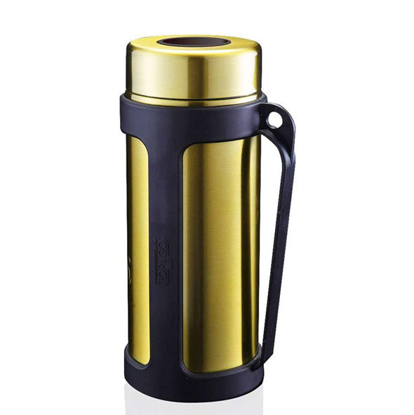 取っ手付き専用ホルダーが付属するトップ&ゴー「ステンレス ボトルクーラー」