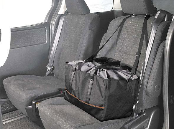 カーメイト「買い物かごサイズ 保冷バッグ」