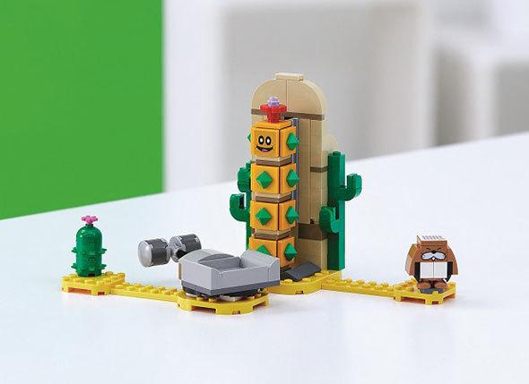 レゴ スーパーマリオ サンボ の さばく チャレンジ