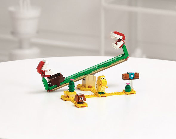レゴ スーパーマリオ パックンフラワーの バランス チャレンジ