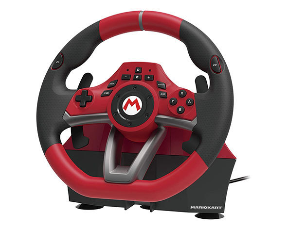 ホリ「マリオカートレーシングホイールDX for Nintendo Switch」
