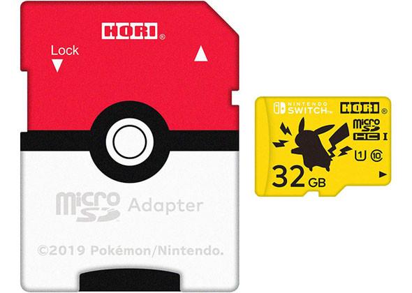 ホリ マイクロSDカード for Nintendo Switch