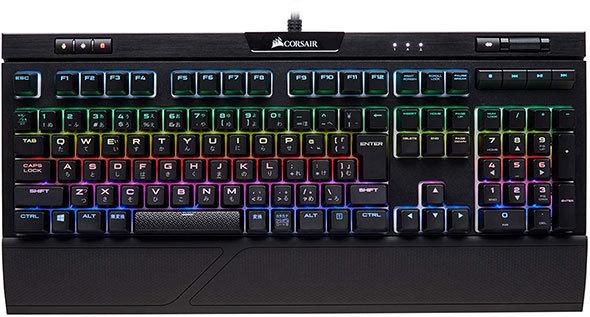 Corsair「K70 RGB MK.2 RAPIDFIRE MX Speed Keyboard」