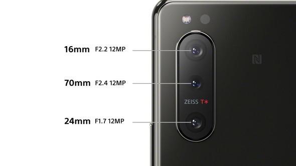 Xperia 5 IIのカメラ