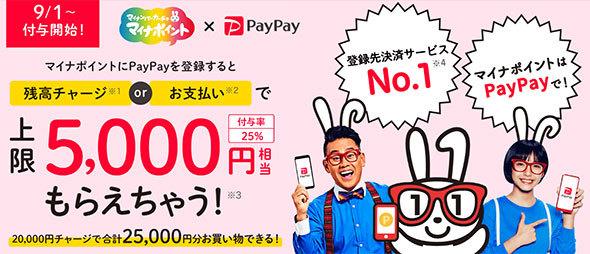 「PayPay」のWebサイト