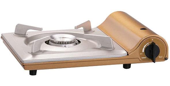 洗練されたデザインで食卓が華やぐ「イワタニ カセットフー 達人スリムIII」