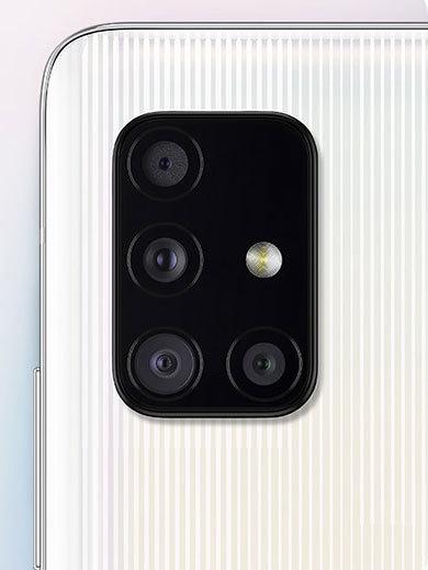 4つのカメラを搭載した「Galaxy A51 5G」
