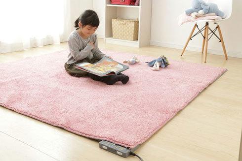 ホットカーペット:抗菌加工など衛生面の機能をチェック