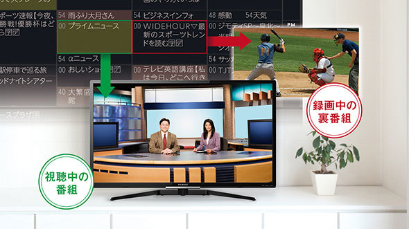 テレビ 録画 機能 内蔵