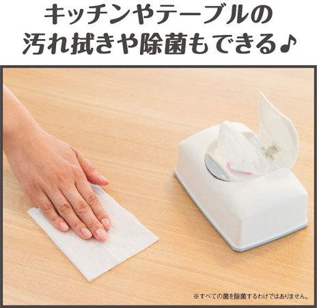 除菌シート:しっかり拭くなら厚手、さっと拭くなら薄手がおすすめ