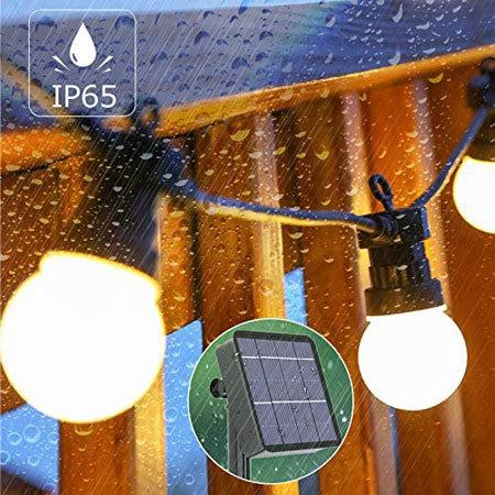 ソーラーイルミネーション:濡れても使える防水タイプがおすすめ