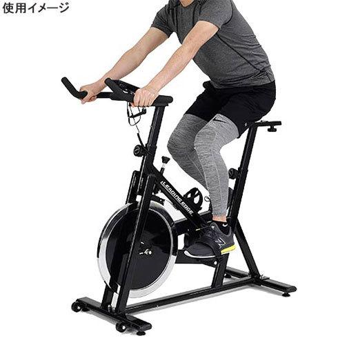 「スピンバイクタイプ」は本格的なトレーニングが可能です。写真は「リーディングエッジ BK-SPN13BK」(出典:リーディングエッジ BK-SPN13BK 製品ページ)