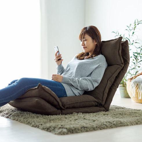 座椅子:リラックスしたいなら「ハイバック」