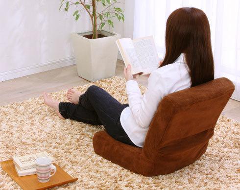 座椅子:座って作業するなら「ローバック」か「ミドルバック」