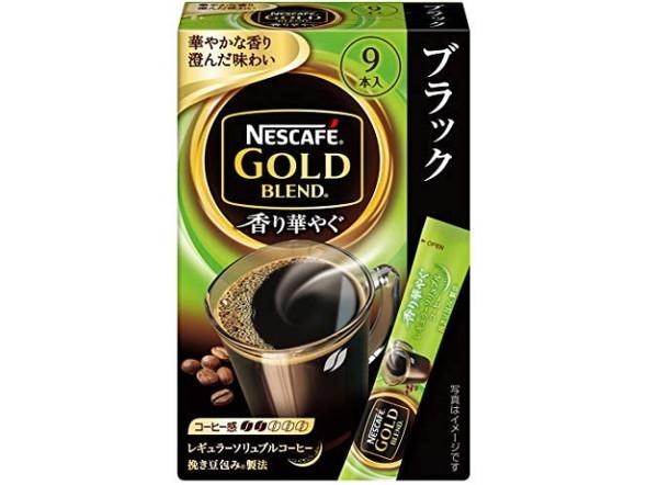 ネスカフェ ゴールドブレンド 香り華やぐ スティック ブラック
