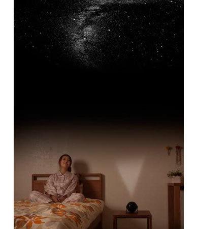 家庭用プラネタリウム:光源と投影距離をチェック