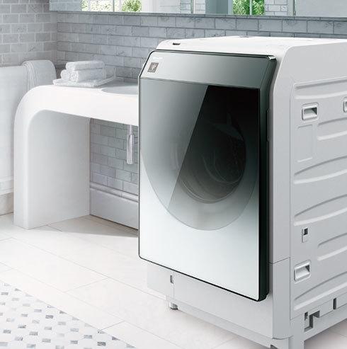 シャープのドラム式洗濯機「ES-W113」