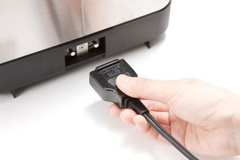 フライヤー・ノンフライヤー:自動電源オフ機能など安全性をチェック