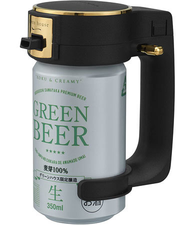 缶ビール用ビールサーバー:対応している缶のサイズをチェック