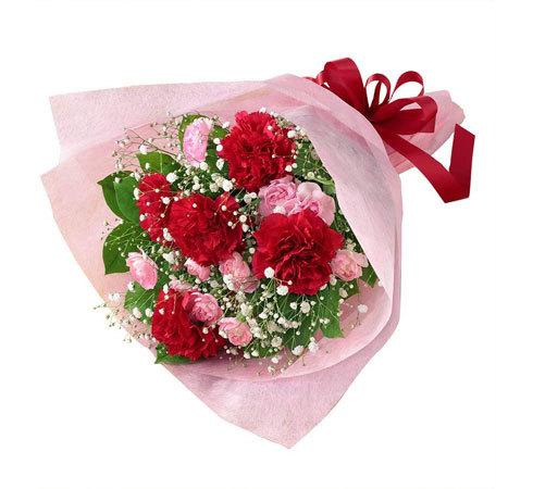 「カーネーションの花束」