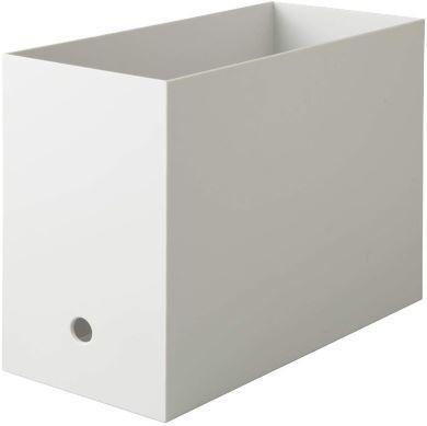 Amazonカテゴリ「ボックスファイル」でベストセラーの無印良品「ポリプロピレンファイルボックス・スタンダードタイプ・ワイド・A4用」