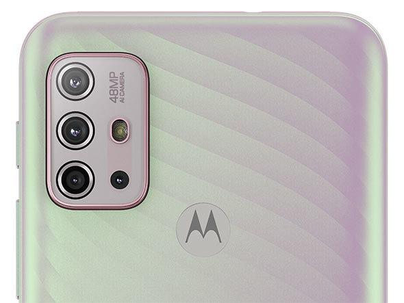 4800万画素カメラを備えた「moto g10」