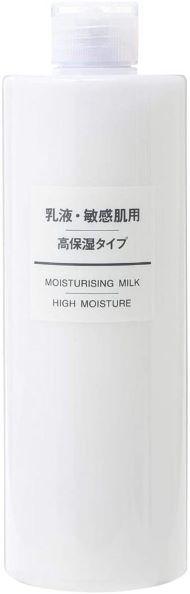 Amazon.co.jpのカテゴリ「乳液・クリーム」でベストセラー1位 無印良品「乳液・敏感肌用・高保湿タイプ(大容量) 400ml」