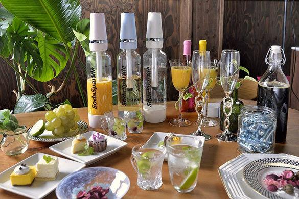 炭酸水メーカー:ジュースやお酒を炭酸飲料にできるかチェック