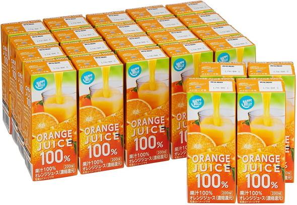 Happy Belly オレンジジュース 100%