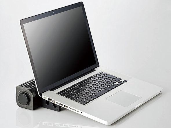 エレコム「USB扇風機(多機能タイプ)FAN-U177BK」