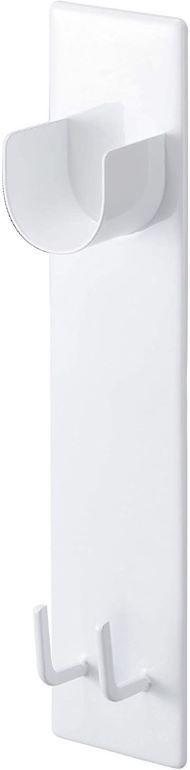 山崎実業「マグネットバスルーム物干し竿ホルダー2個組 タワー」
