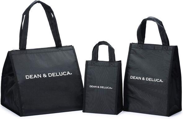 ディーン&デルーカ(DEAN&DELUCA)「クーラーバッグ ブラックS・M・L」