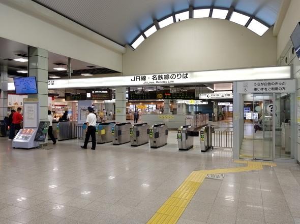 豊橋駅改札