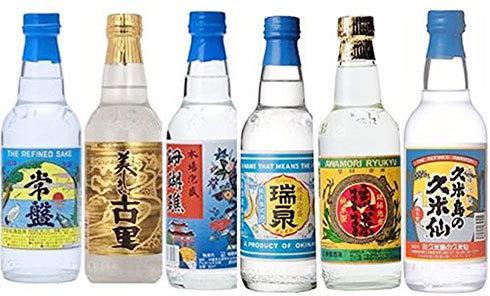 泡盛6種類 飲み比べセット
