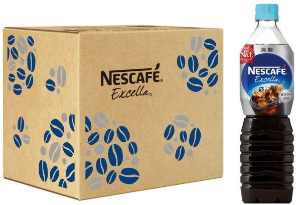 ネスレ日本「ネスカフェ エクセラ ボトルコーヒー 無糖 900ml×12本」