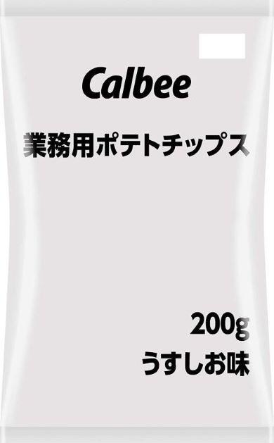 カルビー「業務用ポテトチップス 6袋」