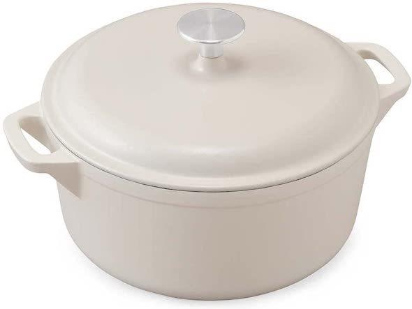アイリスオーヤマ「鋳鉄鍋」