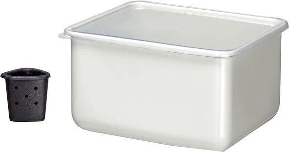高木金属 「漬物容器 水取り器付き」
