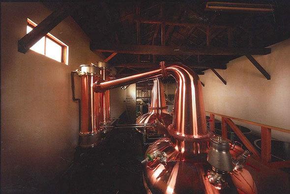 笹の川酒造「ブレンデッドウイスキー山桜 黒ラベル」