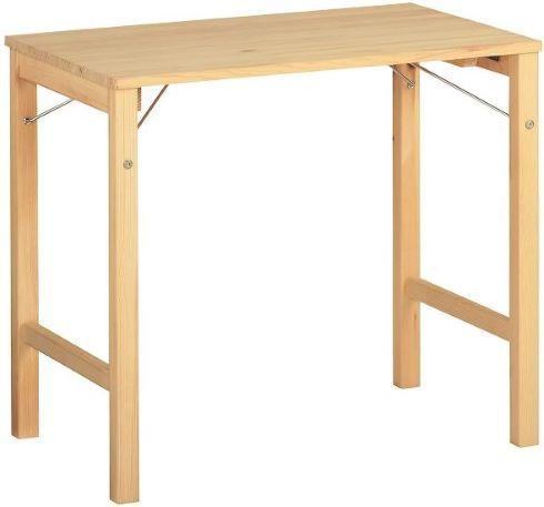 無印良品「パイン材テーブル・折りたたみ式」
