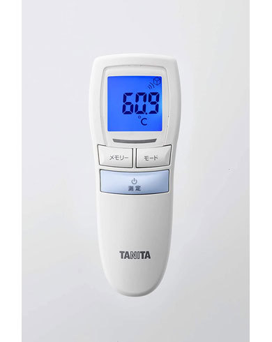 体温計:バックライト機能など、その他の機能をチェック
