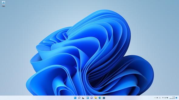 Windows 11のデスクトップ