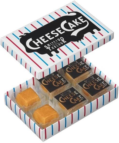 資生堂パーラー「チーズケーキ6個入」