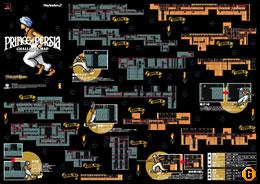 しかもこの地図は,広げると初代作品の完全攻略ガイドになるスグレモノ。各アクションの解説も掲載されているぞ。