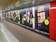 東京メトロ新宿駅で立体音響が楽しめる 「謎惑館」超大型バナー登場