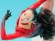 フィギュアスケート選手の浅田真央さん フィギュアで完全再現