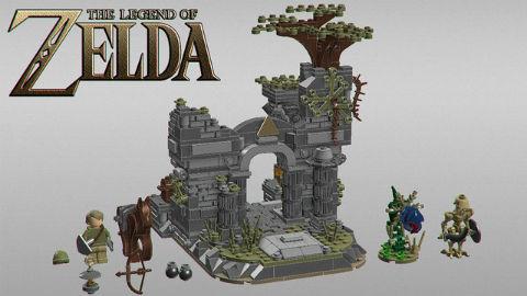 「ゼルダの伝説」レゴ化をファンが提案 Legoが商品化検討 ねとらぼ