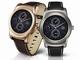 "LG、円形メタリックの""都会的な""Android Wear「LG Watch Urbane」"